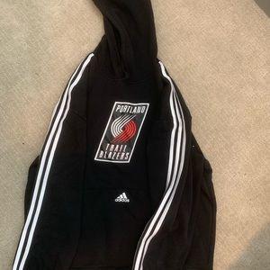 Portland Trail Blazers adidas hoodie